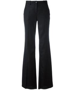 Roberto Cavalli | Fla Trousers 40 Virgin Wool/Silk/Spandex/Elastane/Cotton