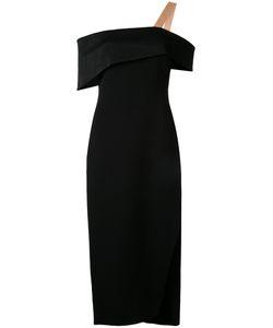 GINGER & SMART | Rendtion Off-Shoulder Dress 10 Polyester/Spandex/Elastane/Viscose