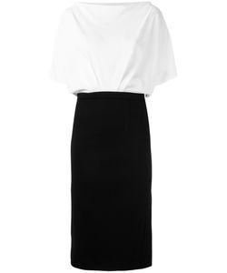 ROSSELLA JARDINI | Bat-Wing Sleeve Dress 44 Viscose/Spandex/Elastane