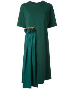 Muveil | Ruffled Detailing T-Shirt Dress Size
