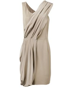 D.exterior | Diagonal Drape Dress 42