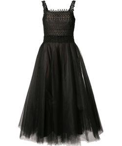 Marchesa Notte | Tulle Fla Dress 16 Polyester
