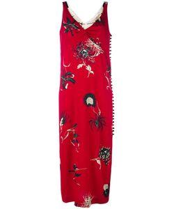 Dries Van Noten | Print Slip Dress