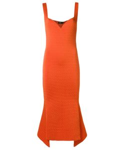 Gig | Knit Midi Dress P Viscose/Polyamide/Elastodiene