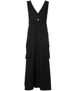 Y'S | Buttoned Midi Dress Size