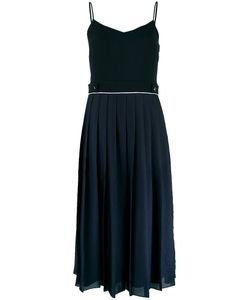 Victoria, Victoria Beckham | Victoria Victoria Beckham Pleated Contrast Dress Size 6