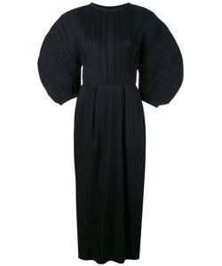 Jil Sander | Плиссированное Платье С Пышными Рукавами