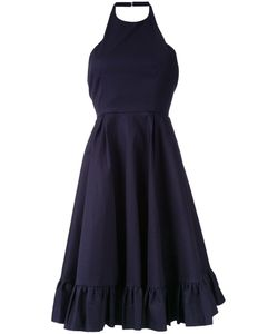 SCANLAN THEODORE | Double Ruffle Hem Dress 10 Cotton