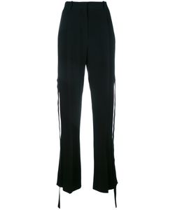 Givenchy | Silk Panel Tie Relaxed Trousers 38 Spandex/Elastane/Viscose/Silk/Polyamide