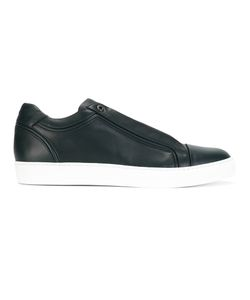 Brioni | Lace Up Trainers 10 Leather/Rubber