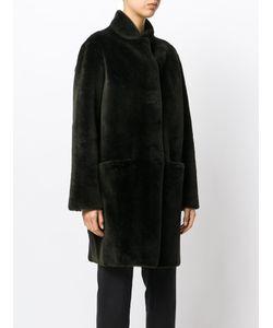 INÈS & MARÉCHAL | Fur Detail Coat
