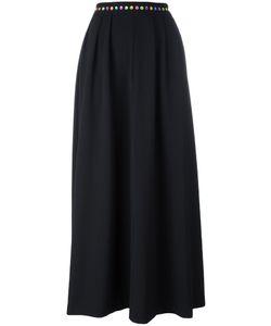 Love Moschino | Full Maxi Skirt 40 Polyester/Spandex/Elastane