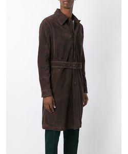 Ami Alexandre Mattiussi | Suede Trench Coat