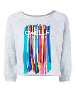 Gaëlle Bonheur | Gaelle Bonheur Straps Appliqué Sweatshirt