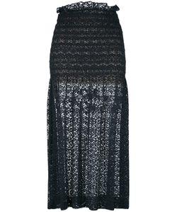 Stella Mccartney   Micaela Skirt 42 Cotton/Polyester/Silk