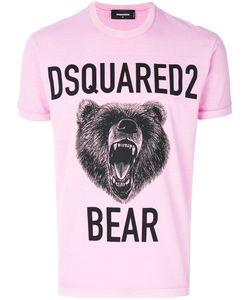 Dsquared2 | Футболка С Принтом Медведя