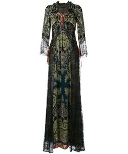 Etro | Lace Panel Maxi Dress