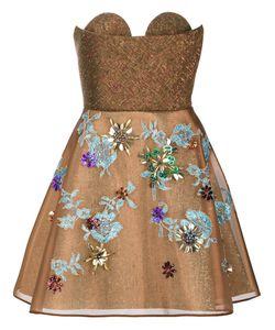 Delpozo | Strapless Short Dress