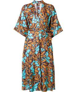 TOME | Платье-Рубашка С Цветочным Узором