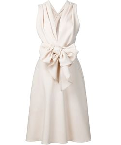 TOME | Crepe Bow Dress