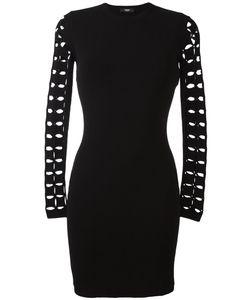 Versus | Платье С Вырезами На Рукавах