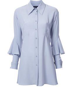 Lamarck | Ruffled Detail Shirt Dress