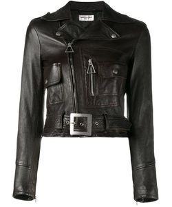 Saint Laurent | Cropped Biker Jacket