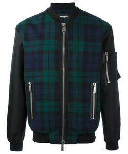 Dsquared2 | Tartan Pattern Bomber Jacket
