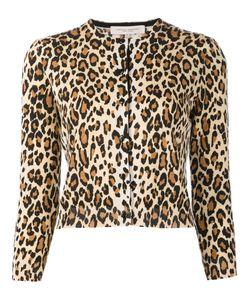 Carolina Herrera | Cheetah Print Cardigan