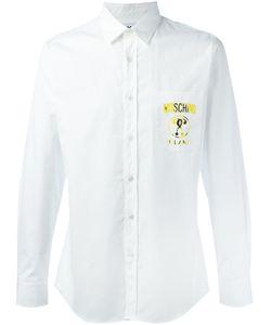 Moschino | Рубашка С Принтом-Логотипом