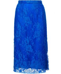 TOME | Lace Straight Skirt