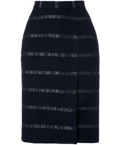 Lamarck | Stripe Detail Pencil Skirt