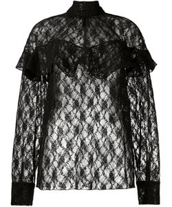 A.W.A.K.E | Sheer Lace Blouse