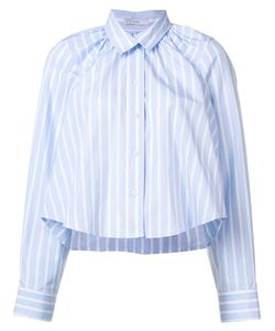 TOME | Striped Cropped Shirt