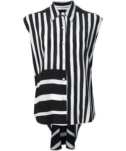 TOME | Striped Sleeveless Shirt