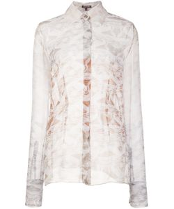 Sophie Theallet | Sheer Marble Effect Blouse