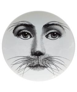 FORNASETTI | Whisker Print Plate