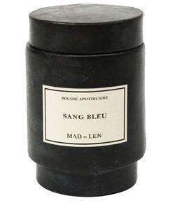 Mad Et Len | Sang Bleu Scented Candle
