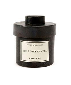 Mad Et Len | Les Roses Fanées Scented Candle