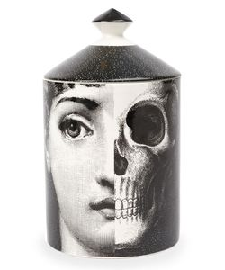 Fornasetti Profumi | Face And Skull Print Candle