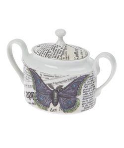 FORNASETTI | Butterfly Sugar Bowl