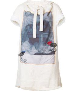 Bernhard Willhelm   Front Print T-Shirt Dress Small Cotton