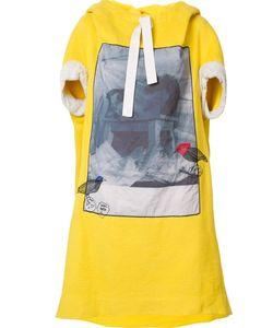 Bernhard Willhelm   Front Print Oversized Dress Medium Cotton