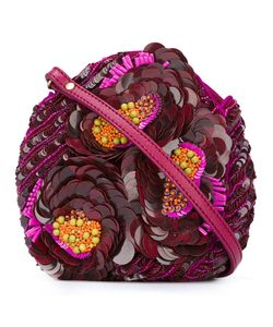Jamin Puech | Sequinned Flowers Clutch