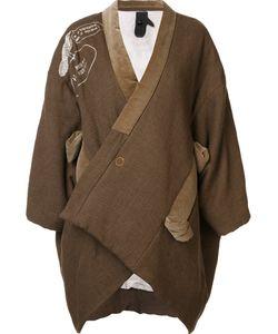Bernhard Willhelm | Oversized Jacket Medium Cotton/Polyester/Linen/Flax