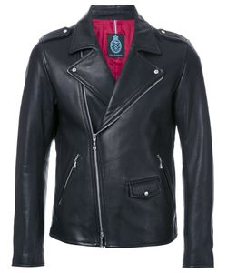 GUILD PRIME | Zipped Biker Jacket 1 Lamb Skin