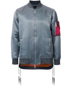Yoshio Kubo | Sleeve Detail Bomber Jacket 2 Cotton/Nylon