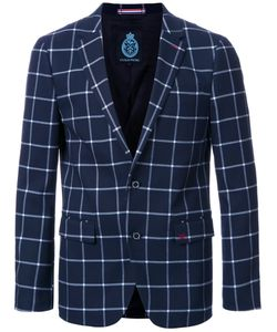 GUILD PRIME | Checked Single Breasted Blazer 3 Polyester