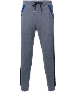 EDUCATION FROM YOUNGMACHINES | Textured Stripe Joggers 2 Cotton