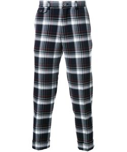 EDUCATION FROM YOUNGMACHINES | Plaid Cropped Trousers 1 Polyester